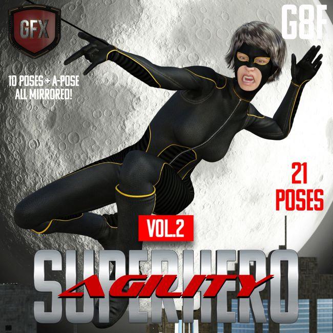 SuperHero Agility for G8F Volume 2