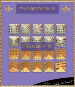 Styles Gold And Silver