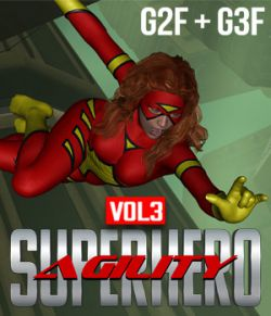 SuperHero Agility for G2F and G3F Volume 3