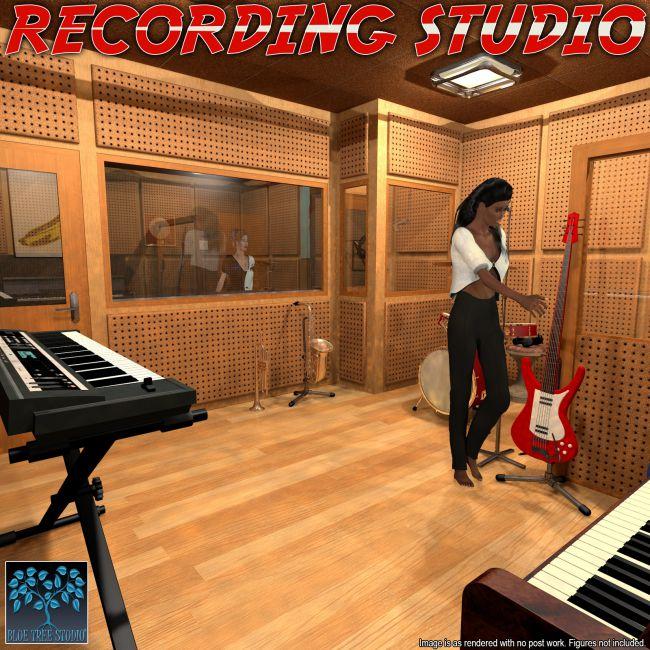 Recording Studio for Poser