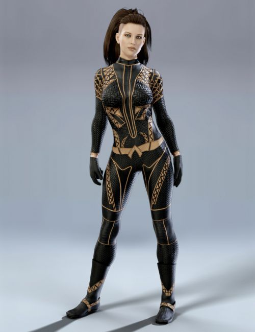 X-Fashion Sci Bodysuit 2 for Genesis 8 Female(s)