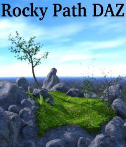 Rocky Path DAZ