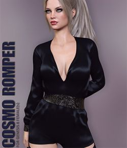 Cosmo Romper for Genesis 8 Females