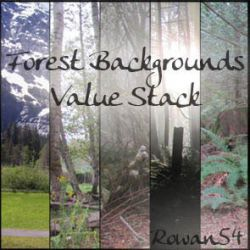 Forest Backgrounds Value Stack