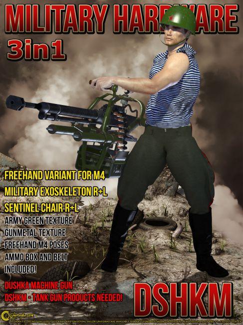 Military Hardware - DShKM