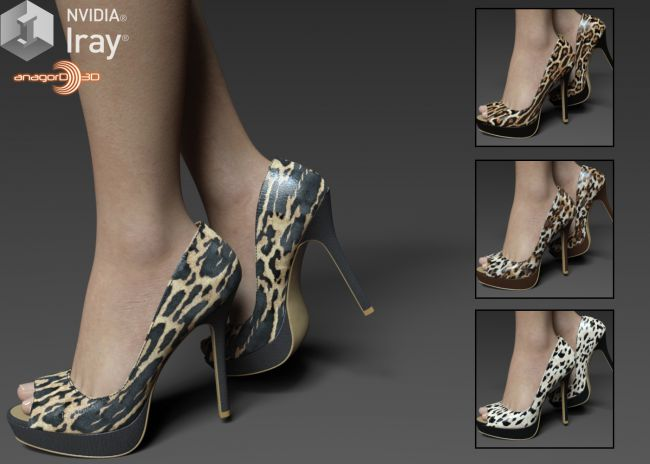 COSMOPOLITAN - Peep-Toe Platform Pumps For G8F