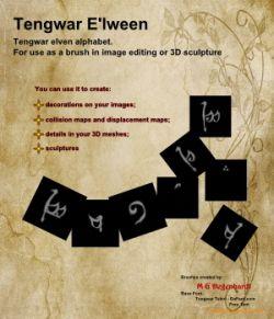 E'lween Tengwar Runic Alphabet