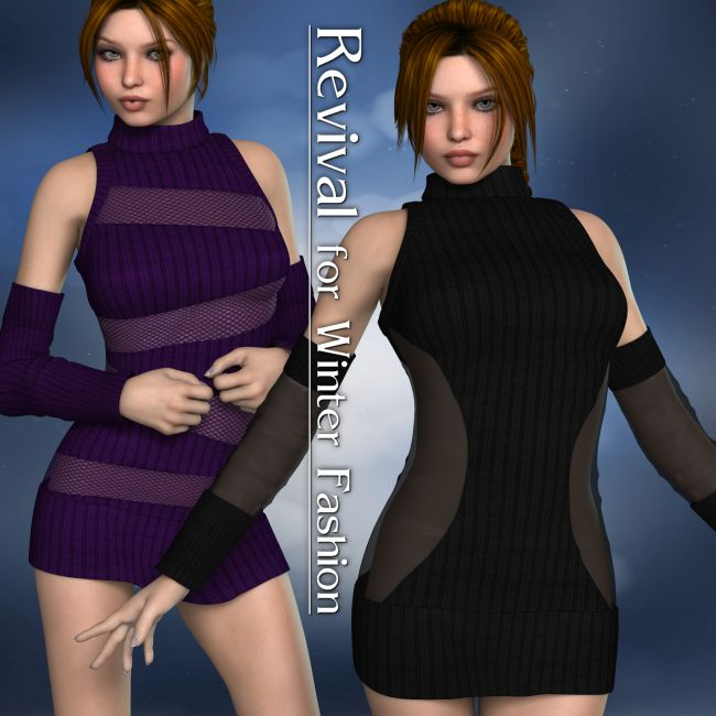Revival for Winter Fashion V4_Poser