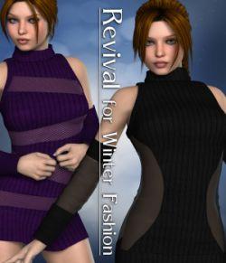 Revival for Winter Fashion V4_Poser