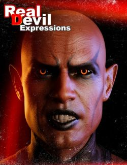RealDevil Expressions for Genesis 8 Male(s)