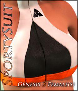 SportySuit for Genesis 3 Females