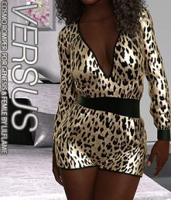 VERSUS- Cosmo Romper for Genesis 8 Females