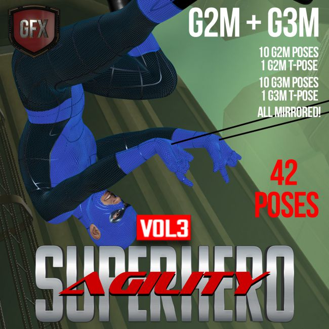 SuperHero Agility for G2M and G3M Volume 3