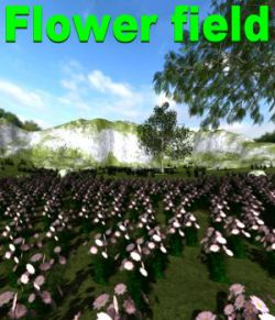 Flower field Poser