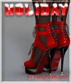 Holiday Lucy Heels G8F