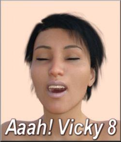 Aaah! Vicky8 for Daz Studio