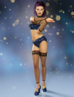 Joliette Outfit for Genesis 8 Female(s)