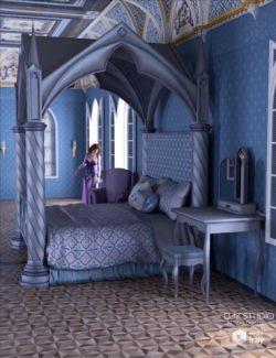 Pastel Brocade for Gothic Deco