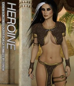 HEROINE- Exnem Sorceress Outfit for G3 Female