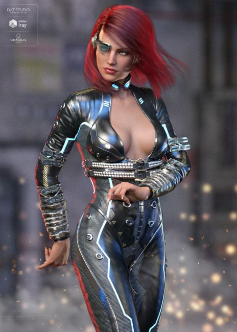 Night Spy Outfit for Genesis 8 Female(s)