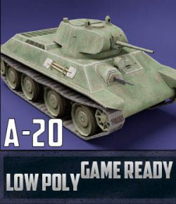 A-20 USSR Toon Tank- Extended License