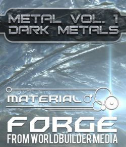 Material Forge Metal Vol. 1 Dark Metals - Extended License
