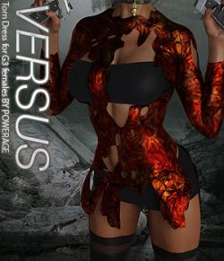 VERSUS - Torn Dress for G3 females
