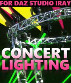 Concert Lighting for DS Iray