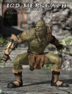 IGD Mergraph Poses for Orc HD and Genesis 8 Male