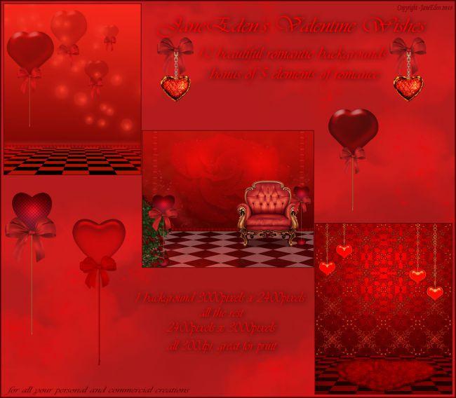 JaneEden's Valentine Wishes