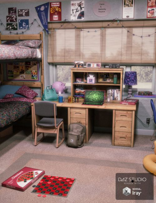 FG Dorm Room