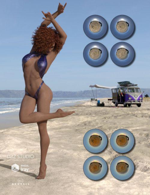 Fantasy IBL - Sandy Beach HDRI