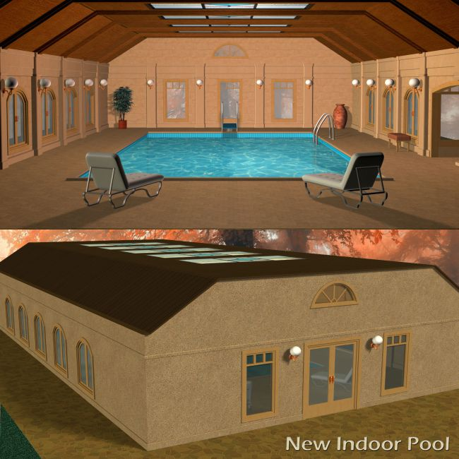 New Indoor Pool Set