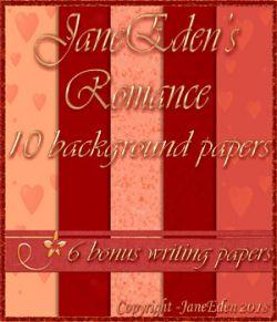 JaneEden's Romance Backgrounds