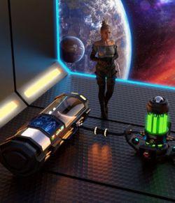Sci Fi Stasis Pod