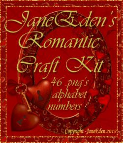JaneEden's Romantic Craft Kit
