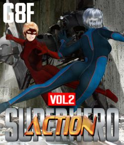 SuperHero Action for G8F Volume 2