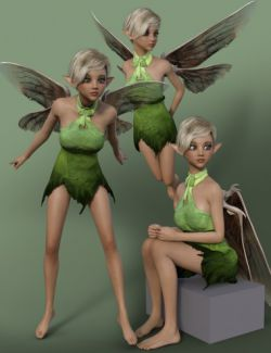Classic Fairy Attitude Poses for Karyssa 8