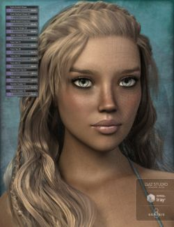 Genesis 8 Female Head Morph Resource Kit 3