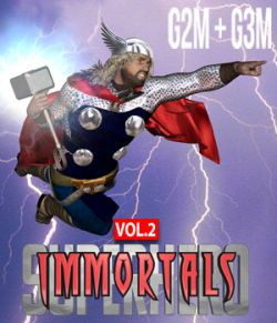 SuperHero Immortals for G2M and G3M Volume 2