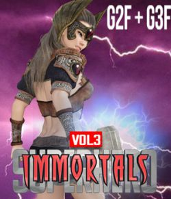 SuperHero Immortals for G2F and G3F Volume 3