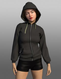 FG Mega Hoodie for Genesis 8 Female(s)