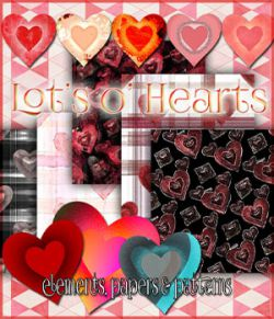 Lot's o' hearts