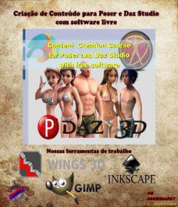 Curso de Criacao de Conteudo para Poser e Daz Studio com software livre