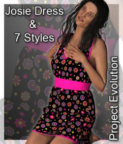 Josie Dress and 7 Styles for Project Evolution- Poser
