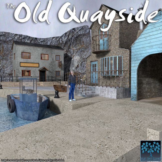 Old Quayside for Poser
