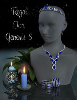 Regal Jewelry for Genesis 8 Female(s)