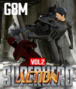 SuperHero Action for G8M Volume 2