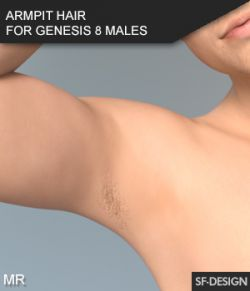 Armpit Hair for Genesis 8 Males and Merchant Resource