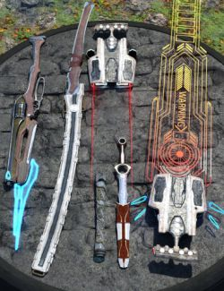 Adventurer's Toy Box- Weapons Edition: Genesis 8 Female and Male